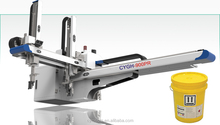 Medium Traversing Servo Robot arm for PP PE PS Plastic Injection Molding Machinery 180-380T