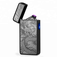 Promotion Gift Amazon Hot Sell Windproof Flameless Safe Custom Arc Lighter