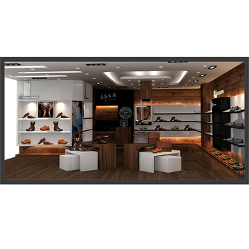 the latest af4f4 c70df Wall Mounted Retail Display Shoes Showroom Display Shoes Shop Display