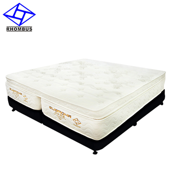 Hotel Latex Foam Pocket Spring Double Bed Mattress Price 2001