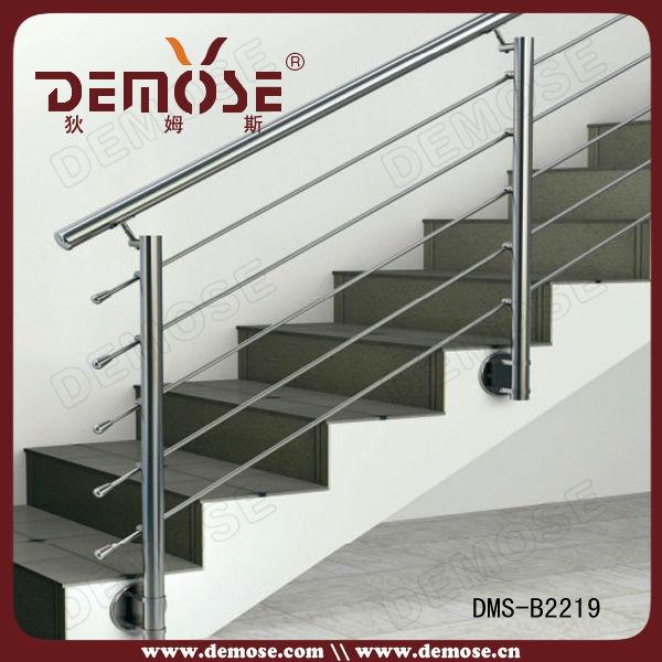barandales de acero inoxidable para escalera moderna con precio barato