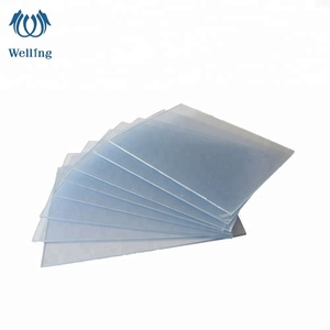 China manufacturer 2MM PVC rigid clear thick/thin sheet