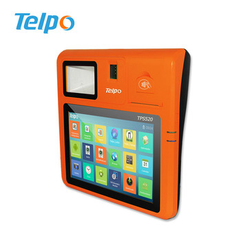 Telpo 10inch RFID POS Terminal with Printer Biometric Fingerprint Reader  and SDK, View rfid pos with printer, Telpo Product Details from Telepower