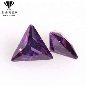 Best Quality Synthetic loose bulk gemstone cz cubic zirconia