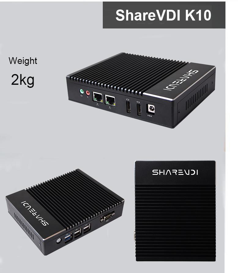 安いベアボーン 2 LAN Linux サーバ J3160 ファンレスミニ PC