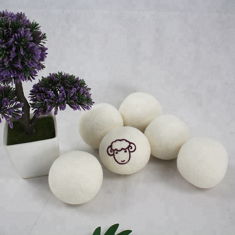 Hot Sale Wholesale Handmade Wool Felt Dryer Washing Ball for Laundry