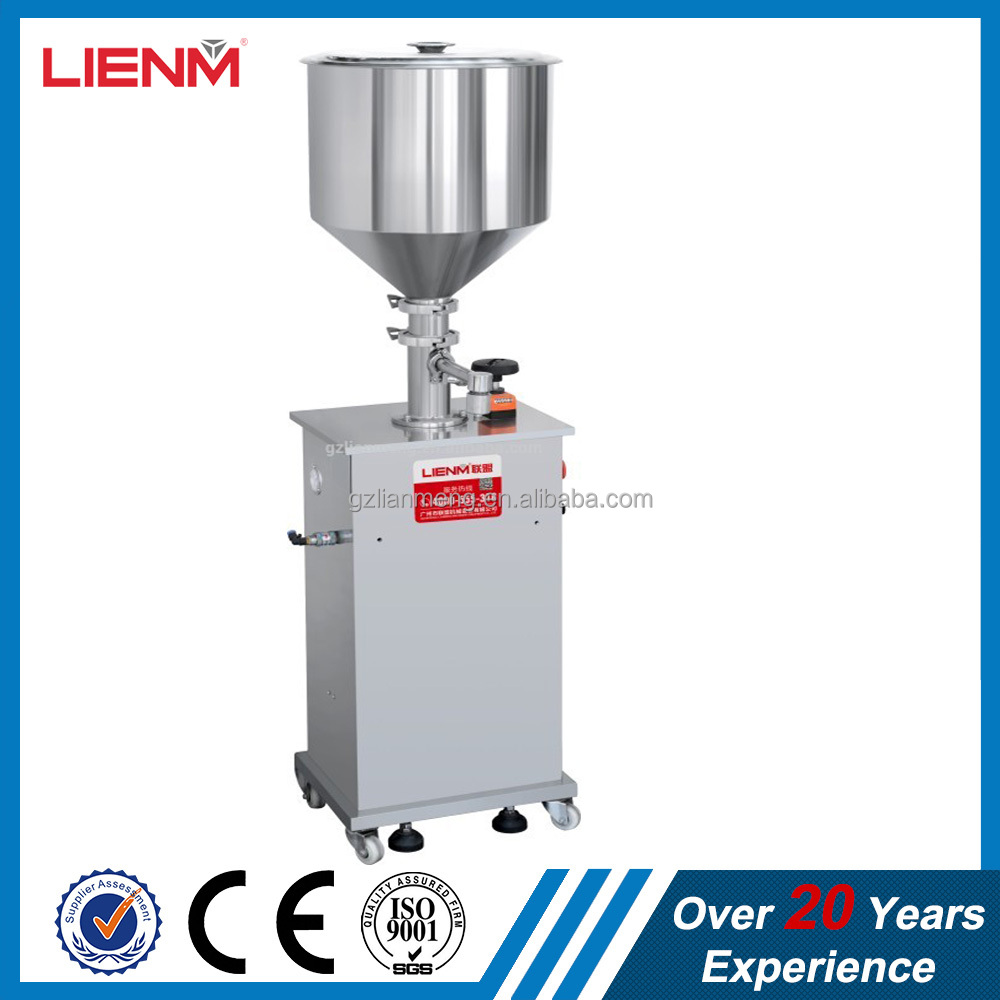 bottle/jar filling machine for cream/ointment/lotion