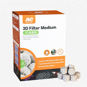 AC Open porosity filter media for aquarium biological filtration