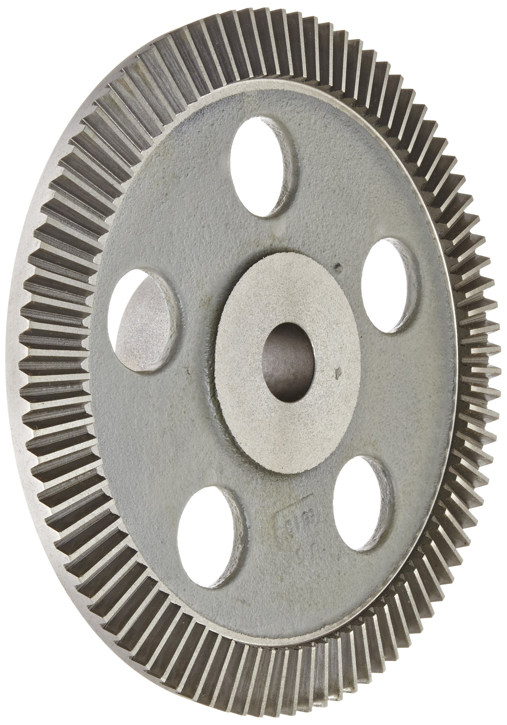 "Boston Gear PA9610Y-G Bevel Gear, 6:1 Ratio, 1.000"" Bore, 10 Pitch, 90 Teeth, 20 Degree Pressure Angle, Straight Bevel, Cast Iron"