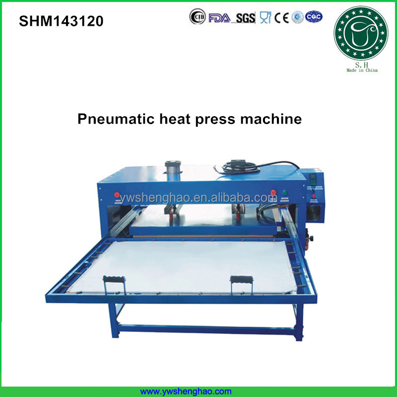 new product hot sale Pneumatic Heat press machine ,heat transfer machine for painting on the ceramic or metals