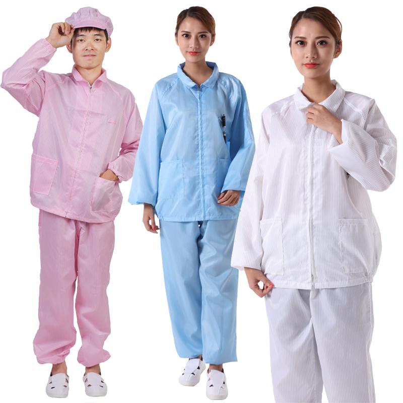 Антистатическая одежда, защита от разрядов - картинка wholesale-high-quality-Antistatic-Clothing-ESD-Jacket