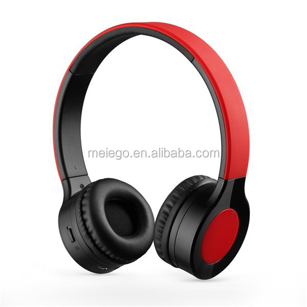 China Wholesale headband microphone noise cancelation headset with wireless design