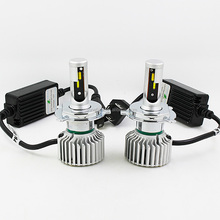 2018 LED xenon vervang lamp h11 dubbele kleur wit & geel schakelbare <span class=keywords><strong>motorfiets</strong></span> led head verlichting
