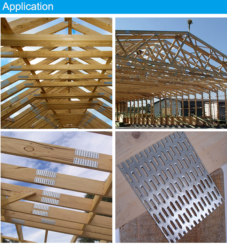 Building And Construction Roof Truss Wood Beam Custom Nail