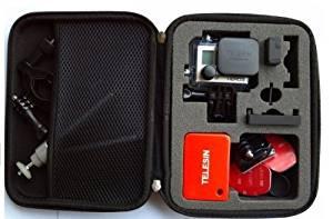AGPtek Carry Travel Storage Protective Bag Case for GoPro HERO 960 1 2 3 3+ Camera (Large)