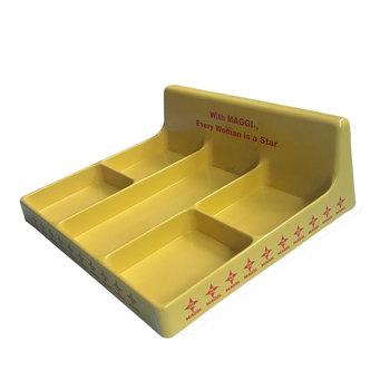 OEM Custom Design colourful vacuum forming ABS plastic trays for food