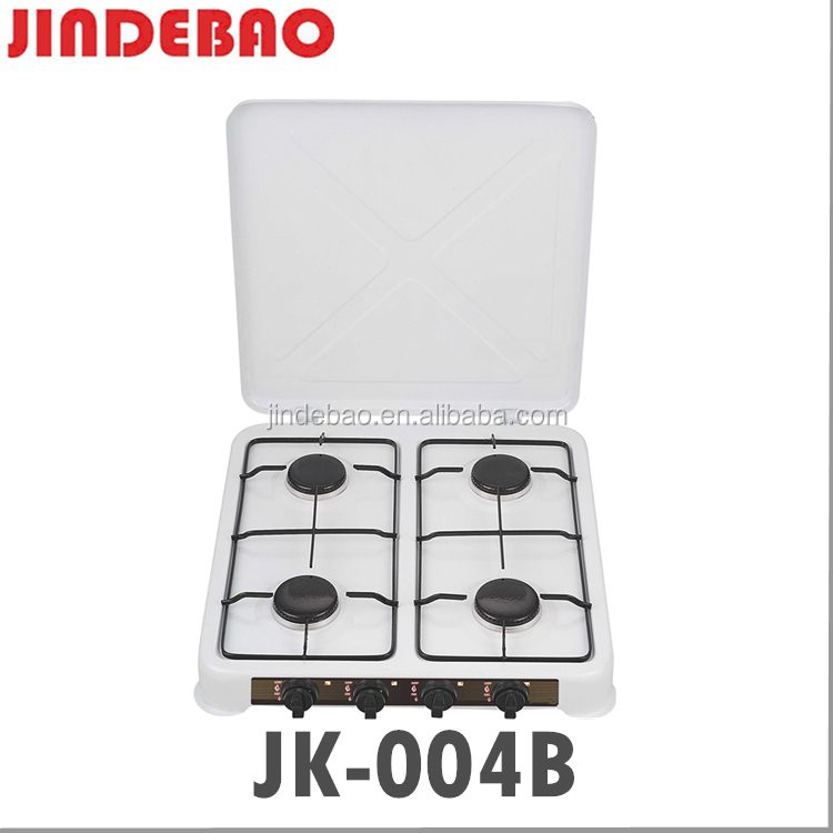 white/black/brown Color coating home cooker gas stove JK-004B