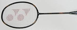 Yonex Voltric Force (Unstrung) Badminton Racket, Black