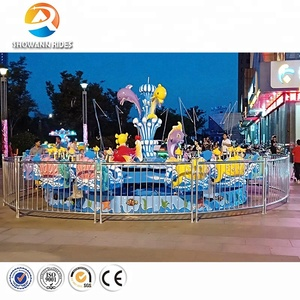 Attractive & Thrilling cheap kiddie rides used amusement theme park rides equipment for sale
