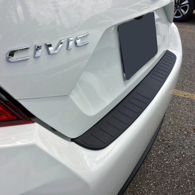 2012-17 Honda Civic Rear Bumper Protector and Bumper Guard