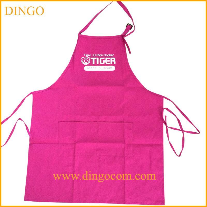 promozionale del cotone grembiule da cucina con logo grembiule da cucina personalizzato grembiule da