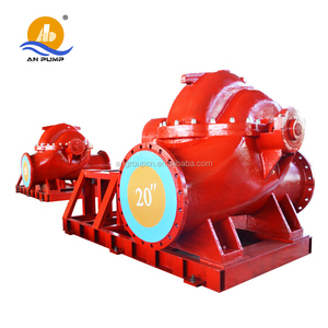 single stange horizontal centrifugal double suction water well pump housing