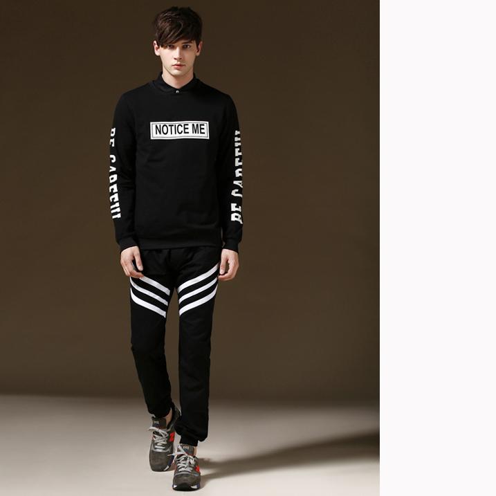 black sweatpants outfit men - photo #47