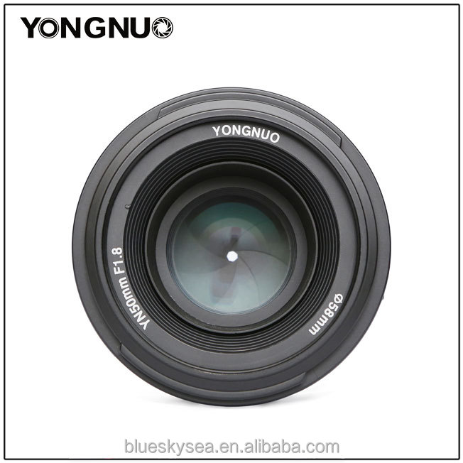 Yongnuo Yn 50mm F1.8n Large Aperture Prime Auto Focus Lens Mf For ...