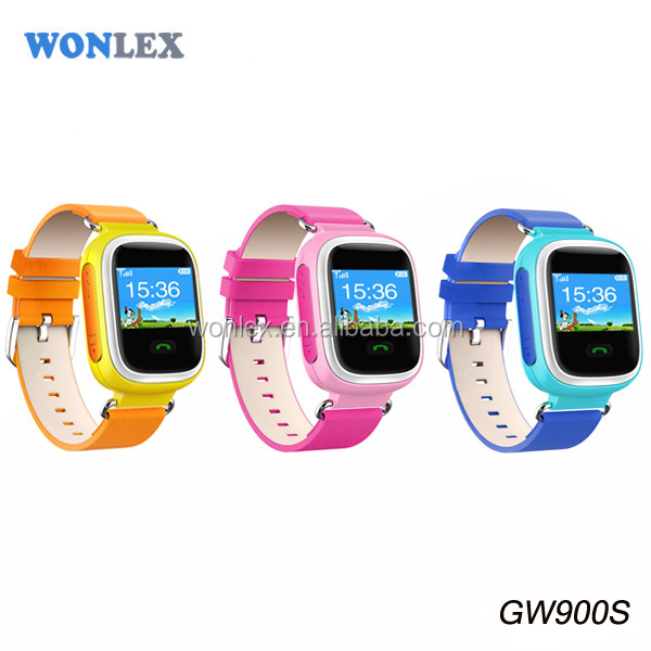 Wonlex Android Gps Adult/Child/KId Watch Tracker SOS Waterproof Gps Tracking Watch Bluetooth