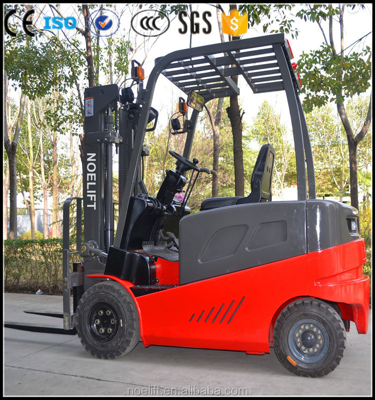 work permit visa for europe Promotional price 4 wheel electric forklift truck for sale with CE ISO