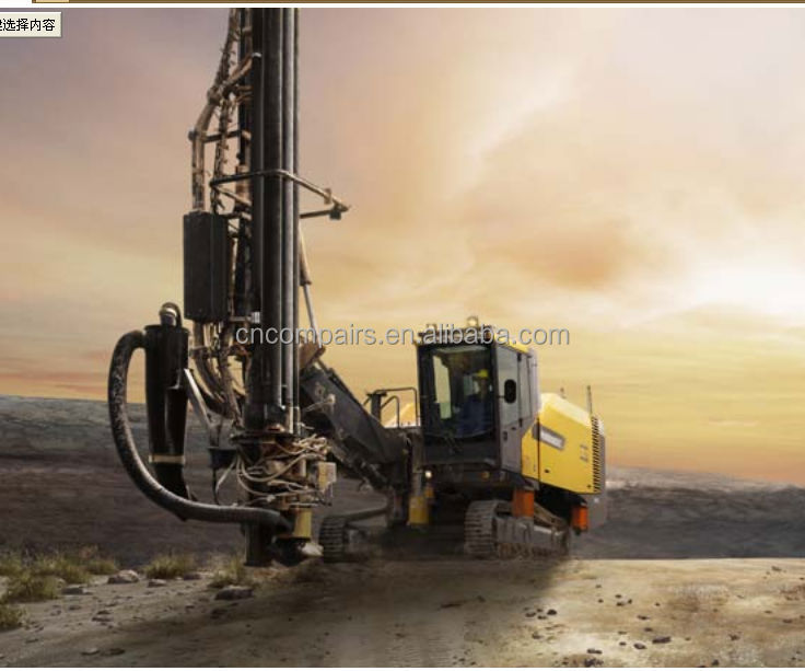 Atlas Copco Limestone quarries, Down-The-Hole Surface mining drill rigs