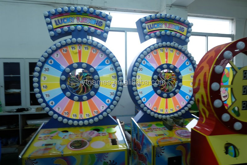 Lucking Turning Spin-n-win Game Machine Lottery Redemption Games - Buy  Lottery Machine Product on Alibaba com