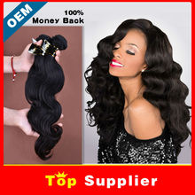 Aliexpress factory price 6A grade can be dyed&ironed crochet braids wet and wavy virgin indian hair extensions remy