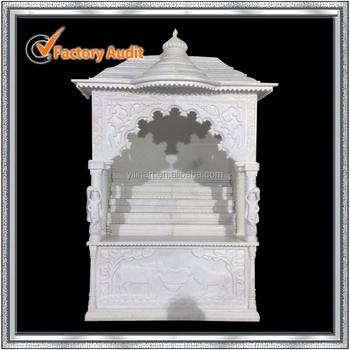 White Marble Mandir For Home (yl-v006) - Buy Mandir Design For ...