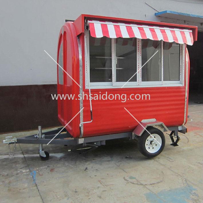 Food Vending Trailer Cars For Sale Mobile Restaurant Trailer/snack ...