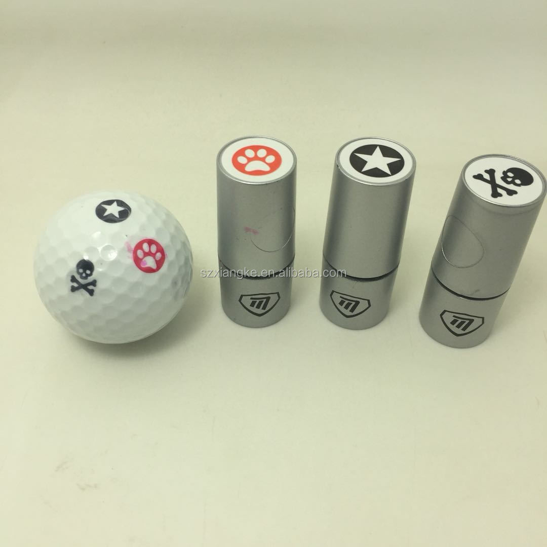 Golf Ball Stamps Custom Made Logo With Quick Drying Ink Buy Golf Ball Logo Stamp Golf Ball Stamp Product On Alibaba Com