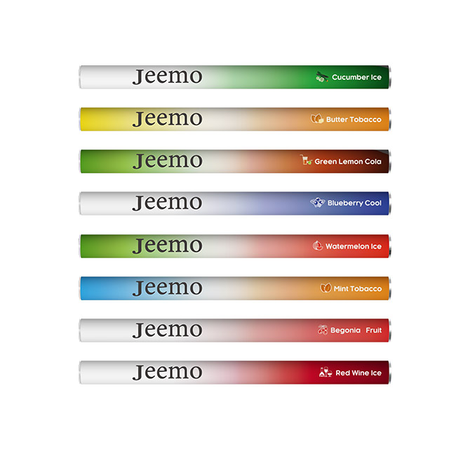 Factory Wholesales  Good Quality Tasty Disposable Vape Pen In stock 300 Puffs Vape Pen Starter Kit Jeemo