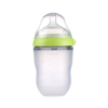 2019 baby supplies Wholesale food grade silicone baby feeding milk bottle for bebe feeding