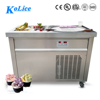 popular customize indoor fried ice cream machine rolls