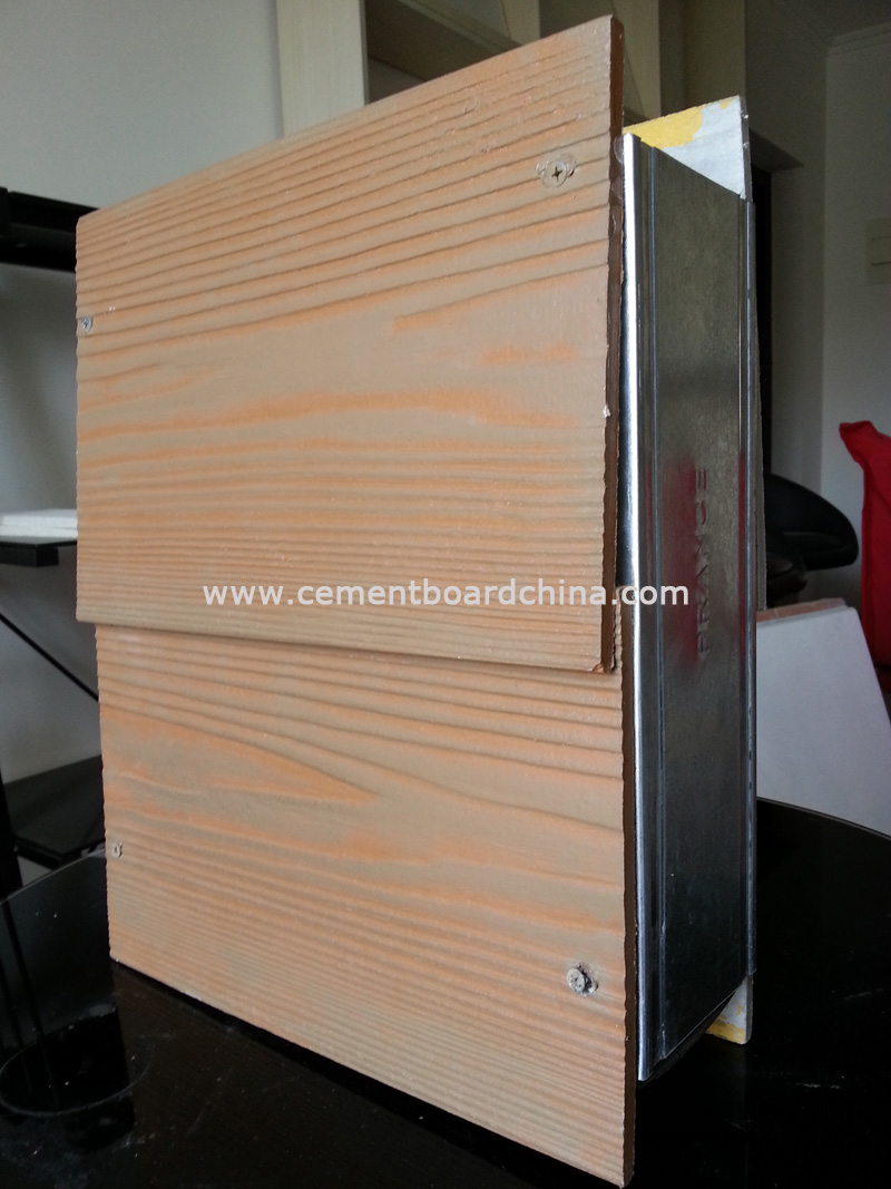 Decorative Exterior Cement Board : Exterior wall cladding partition floor ceiling panel