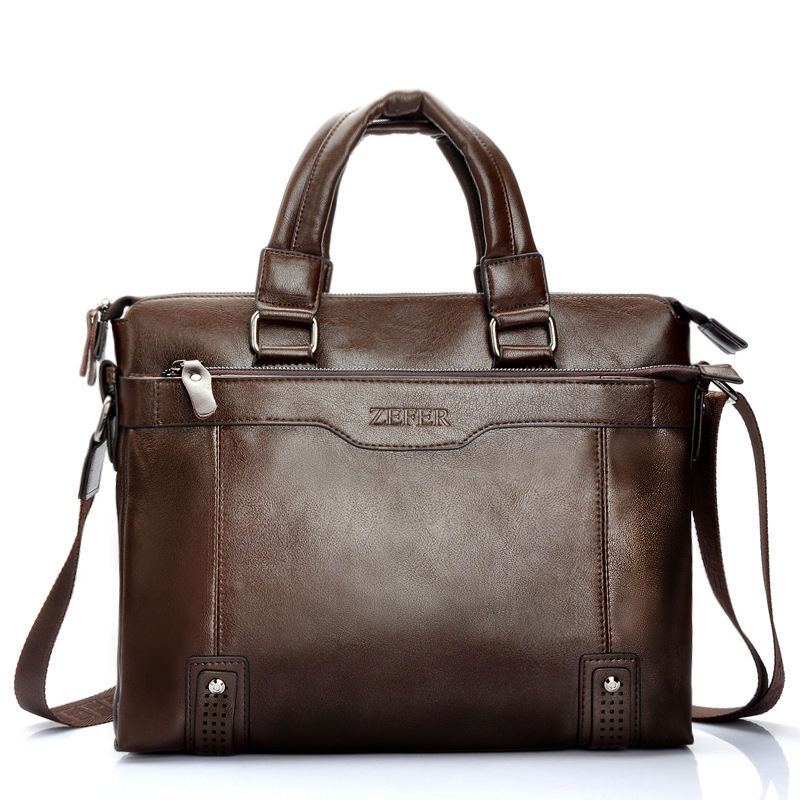 9734af7d05c6 Get Quotations · ZEFER man bag computer bag briefcase business men shoulder  messenger bag factory direct wholesale spot