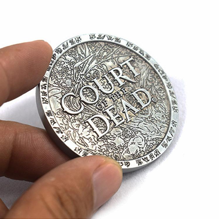 Chine Fournisseur Argent pièce de Monnaie Pirate Défi Pièces de Souvenirs Avec OEM