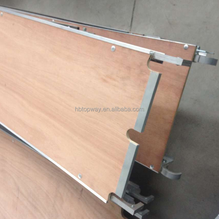 Aluminum Scaffolding Plank with Plywood