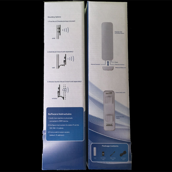 High quality Wireless Long distance 1000Mw Outdoor networking equipment wlan wifi Wireless AP/CPE