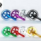 Customized Aluminum Alloy Crankset 48T Alloy Bicycle Chaining Cranks