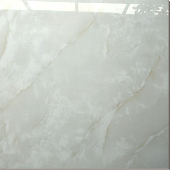 Hs627gn Building Materials White Shiny Floor Tile Super White Nano