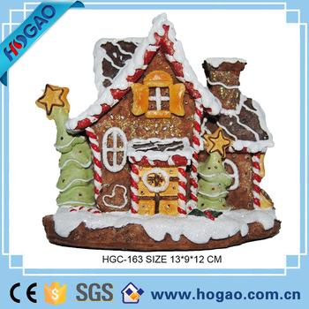 Christmas Houses Village.Decorative Polyresin Christmas Village Like Cake Flashing Led Lights Lighting Resin Houses Buy Polyresin Christmas House Christmas Village