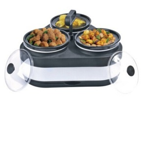 Pleasant 3 In 1Pot Round Buffet Warmer And Hot Box Food Warmer Container Which Can Keep The Food Warm For Home Use Interior Design Ideas Apansoteloinfo