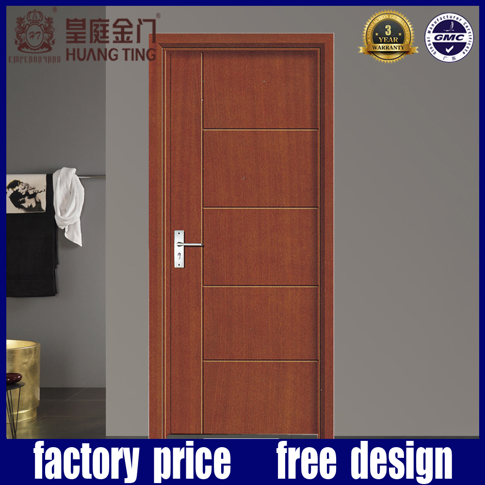 Alibaba Best Quality HDF Wood Flush Panel Door Design