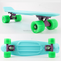 "22"" Plastic Skateboard, Old School style plastic Cruiser board"